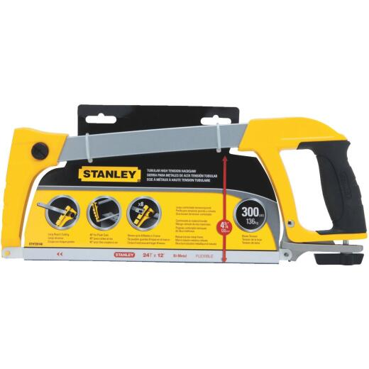 Stanley 12 In. High-Tension Hacksaw