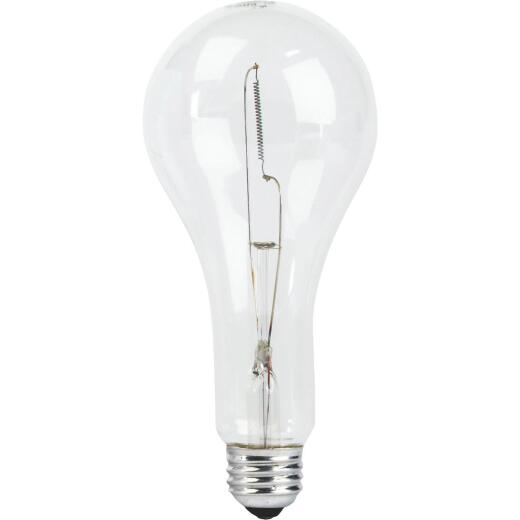 Philips 300W Clear PS25 Medium Incandescent Special Purpose Light Bulb