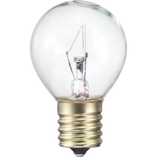 Philips 25W Clear Intermediate S11 Incandescent Appliance Light Bulb