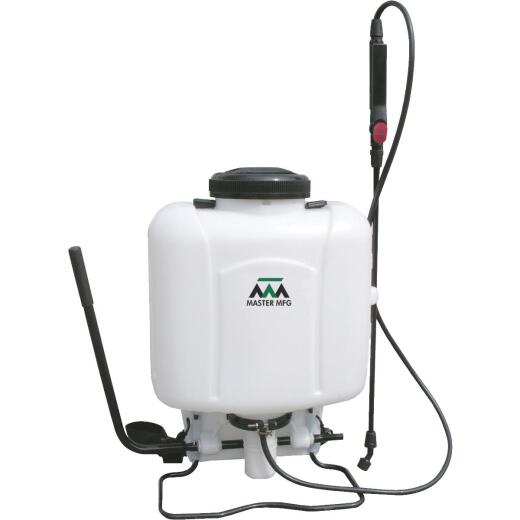 Master Manufacturing 4 Gal. Piston Pump Backpack Sprayer
